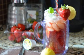 Strawberry Basil soda